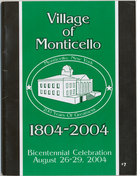 Thumbnail for Village of Monticello, ...