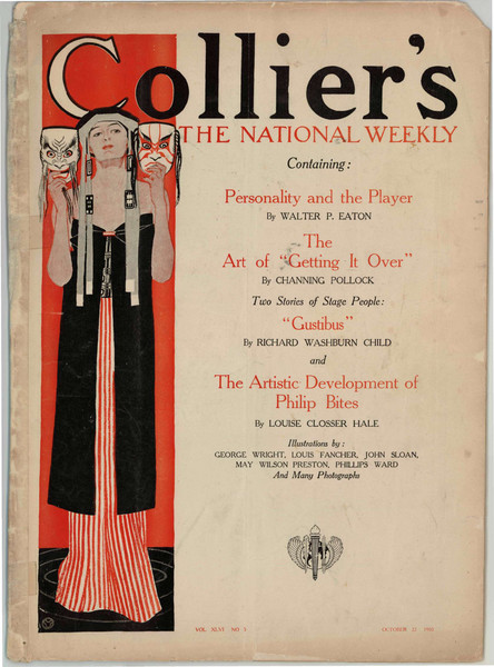 Collier's Magazine cover image