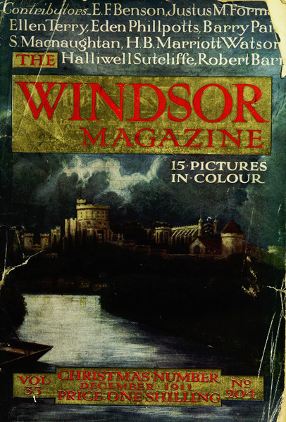 Windsor Magazine cover image