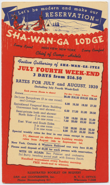 Thumbnail for Sha-Wan-Ga Lodge, Rates ...
