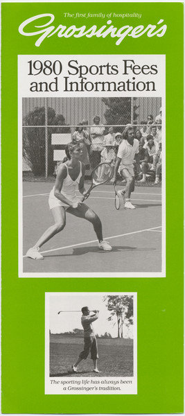 Thumbnail for Grossinger's tennis and ...