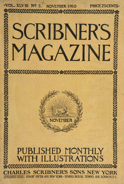 Scribner's Magazine cover image