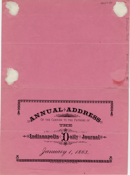 Thumbnail for Annual address of ...