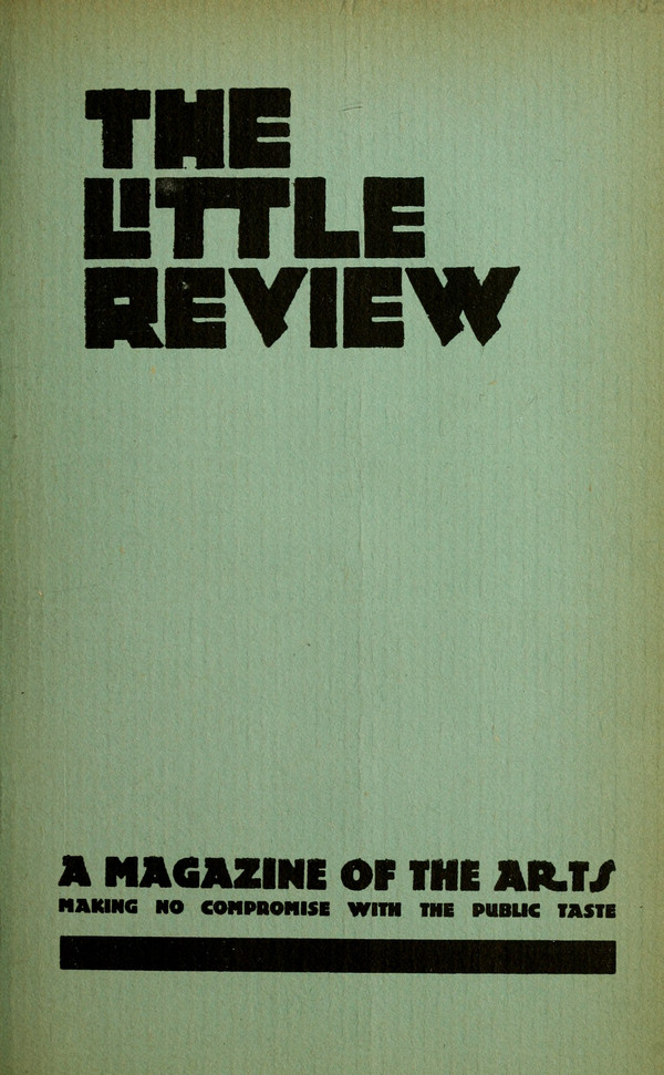 Thumbnail for The&nbsp;Little Review: <small> ...