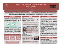 Thumbnail for Health experiences of …