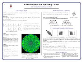 Thumbnail for Generalizations of chip-firing …
