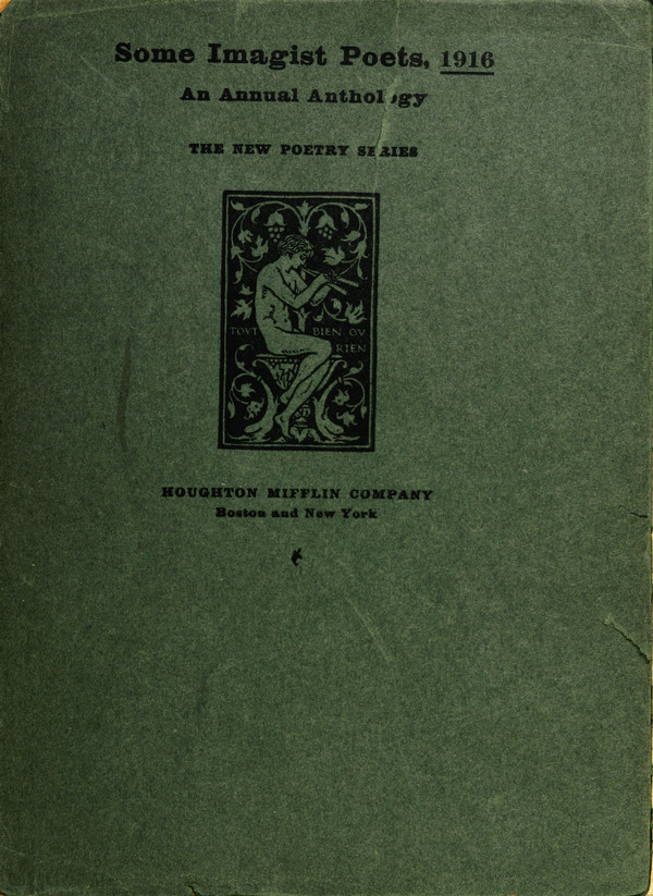 Some Imagist Poets, 1916 cover image