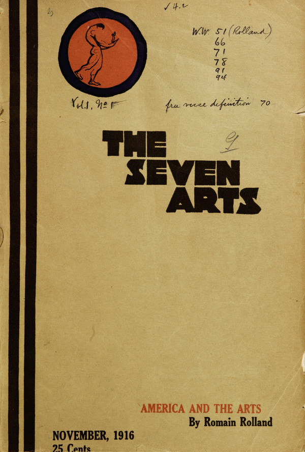 Thumbnail for The Seven Arts ...