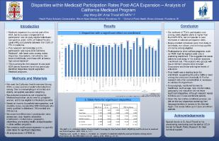 Thumbnail for Disparities within Medicaid …