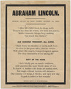 Thumbnail for Abraham Lincoln. Born, ...