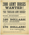 Thumbnail for 2000 Army Horses ...